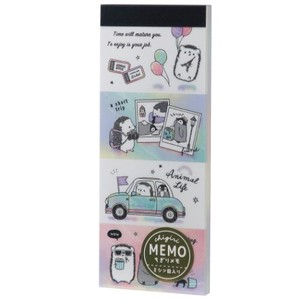 Memo Pad ANIMAL Long Memo Pad Drive