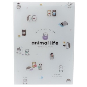 Stationery plastic sheet ANIMAL Desk Pad
