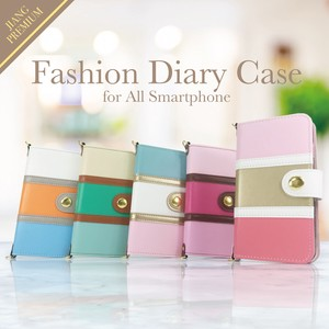 Original Color Scheme Notebook Type Case Xperia