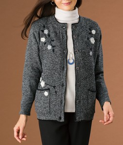 Lining Embroidery Motif Jacket