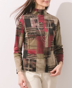 Dyeing Print Wool Pullover