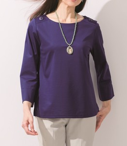 Decoration Button Pullover