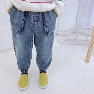 デニムパンツ 韓国子供服 キッズ ジュニア ボトムス ズボン ファッション 2020新作 セール m14559