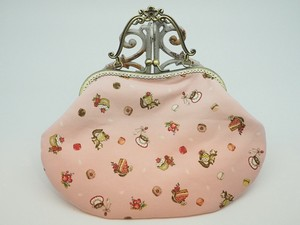 Feeling Coin Purse Bag Base Sweets Tea Pink