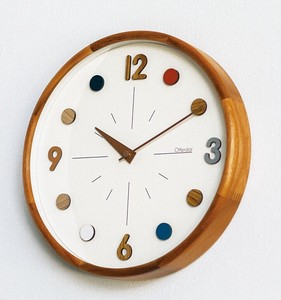 Wall Clock Wall Clock Colorful Child Natural