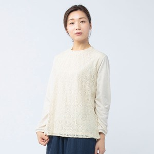 peniphass Front Lace Gather T-shirt