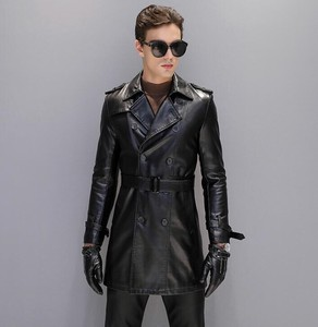[ 2020NewItem ] Rider Men's Insulated Jacket Trench Coat Chesterfield Coat Black