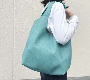 Denim Synthetic Leather Tote Tote Denim Eco Bag