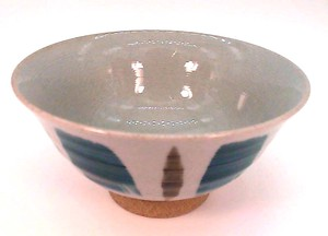 Japanese Rice Bowl Brush Painting
