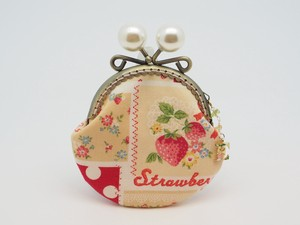 Feeling Coin Purse Pouch Coin Case Base Strawberry