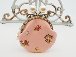 Feeling Coin Purse Pouch Coin Case Base Sweets Tea Pink