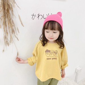 Children's Clothing Top Larger Tea Long Shirt Kids Casual Korea