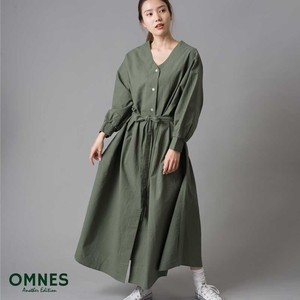 Waist Ribbon Attached Shirt One-piece Dress [ 2020NewItem ]