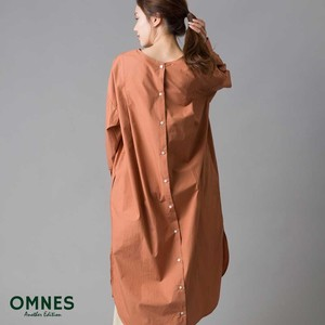 Cotton Behind Shirt One-piece Dress [ 2020NewItem ]