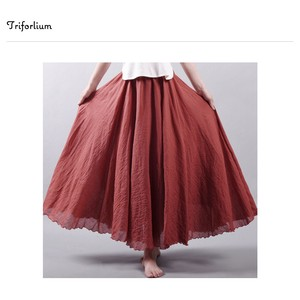[ 2020NewItem ] Material Long Skirt