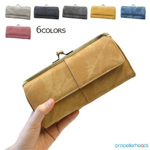 Denim Synthetic Leather Coin Purse Long Wallet
