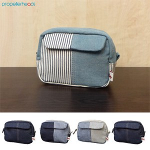 Denim Hickory Mini Pouch