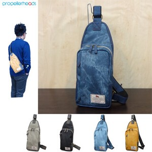 Denim Synthetic Leather Body Bag