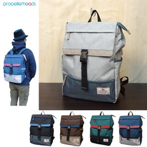 Water Repellent Color Scheme Square Backpack