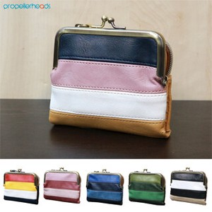 Artificial Leather Switching Coin Purse Wallet