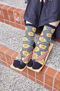 Sunflower Tabi Socks Sock