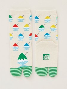 Shaved Ice Tabi Socks 17cm