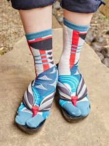 Japan Legalist Tabi Socks Socks
