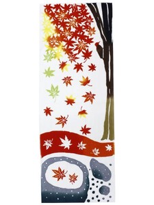 Autumn Colors Autumn Leaves Hand Towel
