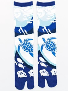 Aquarium Tabi Socks Sock