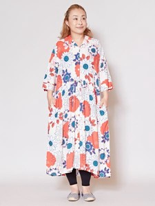 Design Dahlia Shirt One-piece Dress
