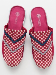 Design Checkered Pattern Slipper Sandal