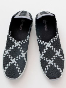 Design Checkered Pattern Men's Shoes