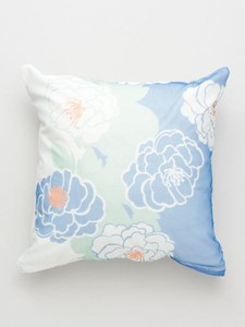 Design Peony Watermark Pattern Cushion Cover