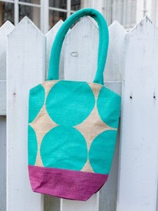 Design Dot Tote Bag