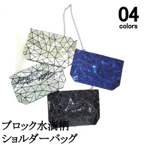 [ 2020NewItem ] Block Glitter Shoulder Bag