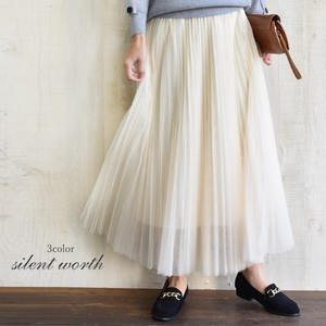 S/S Pleats Skirt