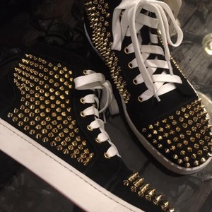 "High-top Sneaker Gold Studs ""2020 New Item"""