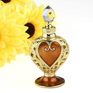 Easy High Quality Perfume Heart-shaped Aroma Bottle Beautiful Antique