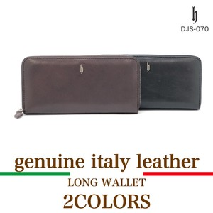 Genuine Leather Italian Leather Use Long Wallet