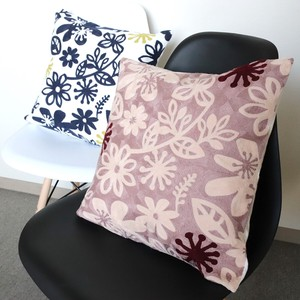 Embroidery Cushion Cover Fine Quality Back Fastener