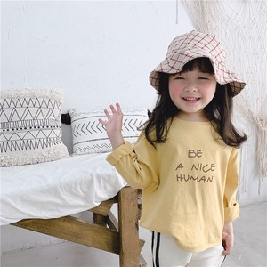 Children's Clothing Top Sweatshirt Long Shirt Kids Casual Korea