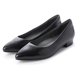Heel Heel Soft Black Pumps
