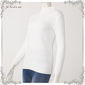 [ 2020NewItem ] Spring Items Knitted Deformation Knitted Inner Bottle Neck Lady