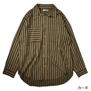 Stripe Over Shirt