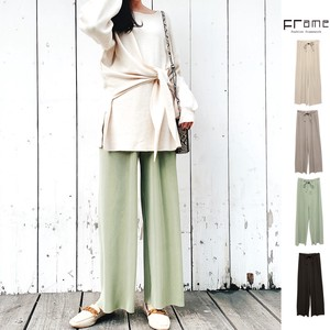 [ 2020NewItem ] Toyayanagi Pleats wide pants