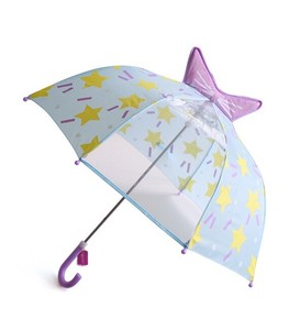 Umbrellas Blue Ribbon