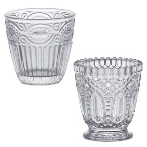 Glass Wine Emboss Glass Cup
