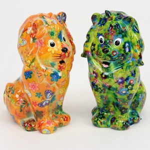 Ceramic Piggy Bank LION