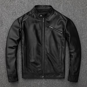 [ 2020NewItem ] Genuine Leather Sheep Leather Leather Jacket for Men for Men Raised Back