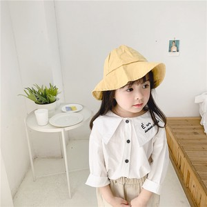 Children's Clothing Top Blouse Shirt Embroidery Shirt Kids Casual Korea